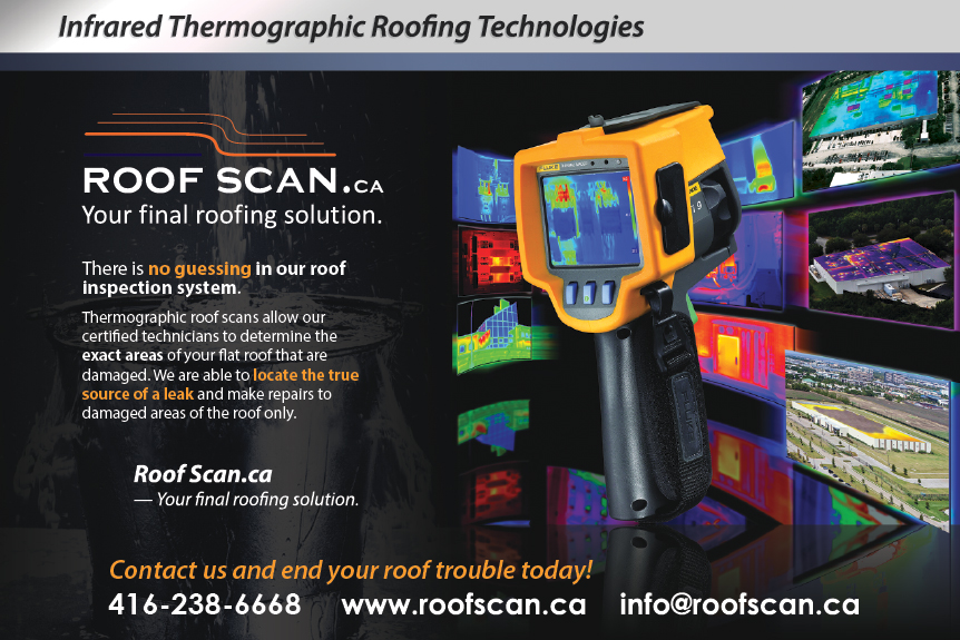 Roof Scan.ca | Commercial Industrial Flat Roofing