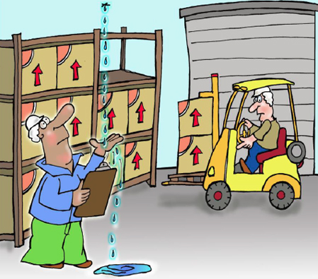 warehouse-flat-roof-leak