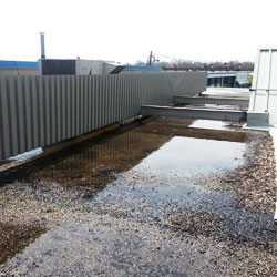 Ponding Water on a Flat Roof